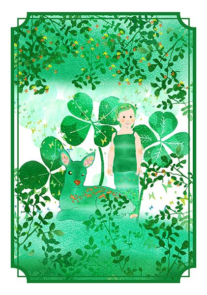 色霊カード常盤色