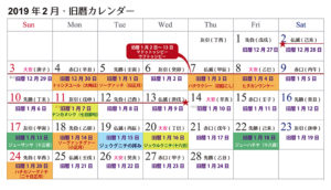 【沖縄旧暦カレンダー】旧正月の一ヶ月☆旧暦一月の行事