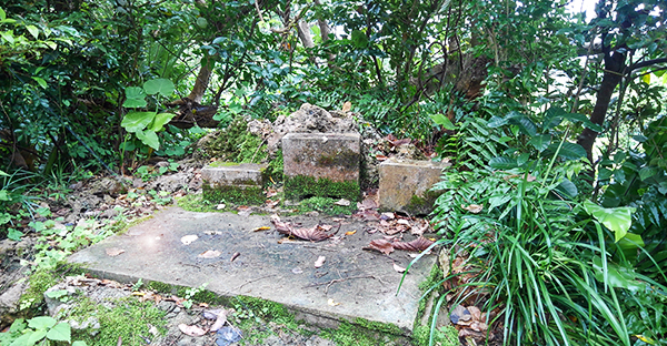 末吉宮の拝所